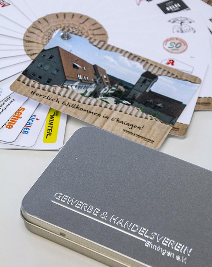 GHV Ehningen Willkommensbox und Karten