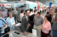 Gewerbeausstellung in der Halle