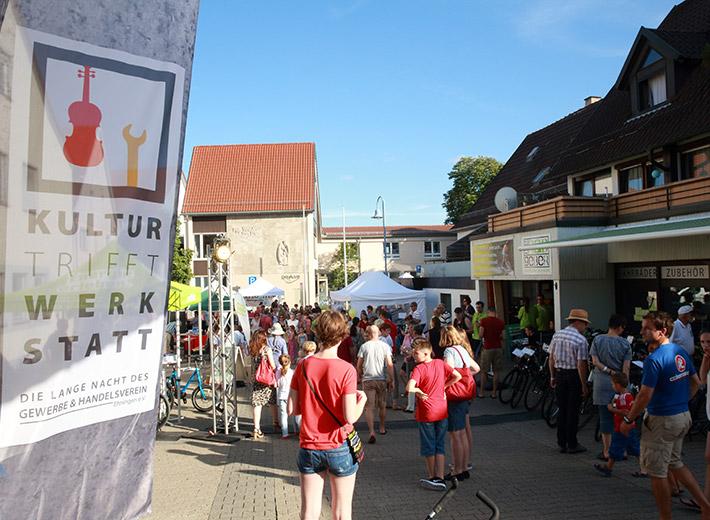 Kultur trifft Werkstatt Königstraße Ehningen