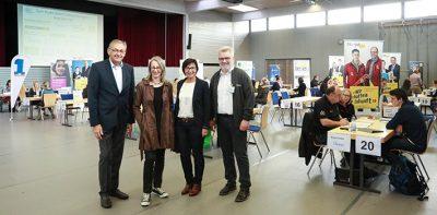 Veranstalter des Azubi-Speed-Dating in Ehningen