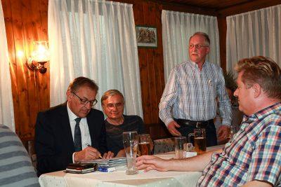 Mitgliederversammlung des GHV Ehningen 2018
