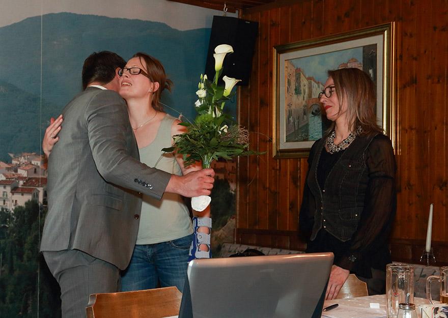 Verabschiedung von Beiratsmitglied Sybille Nehring